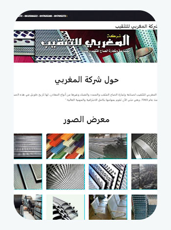 Almaghreby Co - A company working in the field of metals, manufacturing, iron and others - Summahost